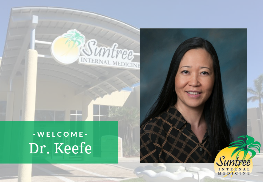 Welcome Dr. Sandra Keefe to Suntree Internal Medicine