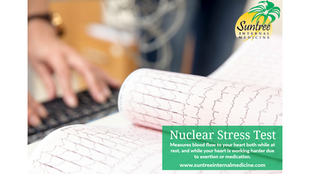 What is a nuclear stress test?